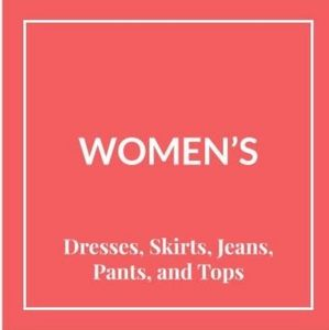 Women's Clothing ⤵️
